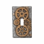 Steampunk Gears Switch Plate Cover