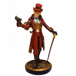 Steampunk Lady with Cane