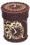 Steampunk Leather Dice Cup
