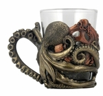 Steampunk Octopus Shot Glass