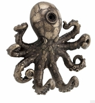 Steampunk Octopus Wall Hook