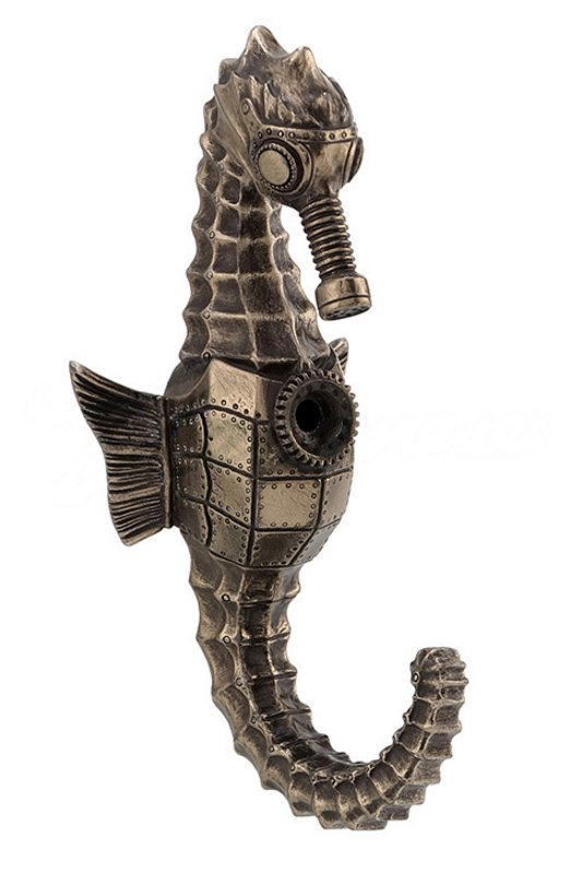 Steampunk Seahorse Wall Hook Steampunk Housewares Amp Gifts