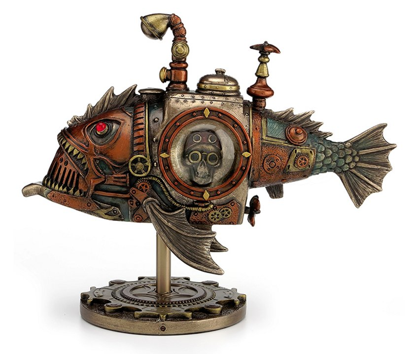 Steampunk Submarine Melanocetus Unus Steampunk Gifts