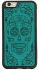 Sugar Skull Leather iPhone Case