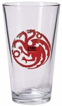 Targaryen Pint Glass: Game of Thrones