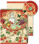 Tea Time Glitter Pocket Note Pad
