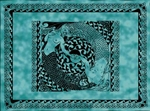 Tender Waves Mermaids Tapestry