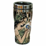 Green Fairy Travel Mug