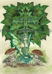 'The Greenmans Daughter' Art Print <font size=-1>by Amy Brown</font>