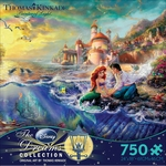 Thomas Kinkade Little Mermaid Puzzle