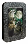 """Three Wolf Moon"" Wolf Card Tin"