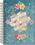 'To The Moon' Spiral Bound Journal