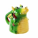 Topsy Turvy Green Dragon Mug