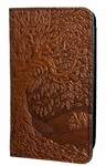 Tree of Life Leather Checkbook Cover