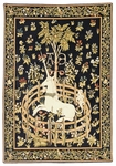 Unicorn in Captivity Tapestry