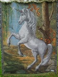 Unicorn Tapestry Throw Blanket