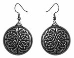 Unity Knot Celtic Earrings
