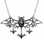 Viennese Nights Bat Necklace