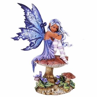 Violet Faery Figurine Amy Brown Fairy Gifts Fairyglen Com