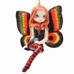 Vivid Wings Fairy Ornament