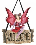 Welcome Fairy Plaque