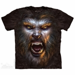 Werewolf Face T-Shirt