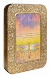 """What Lies Behind"" Dragonfly Card Tin"