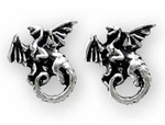 Whitby Wyrm Earrings