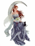 Wind Moon Fairy Ornament