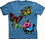 Winged Collage Butterfly T-Shirt