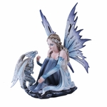 Winter Fairy with Dragon
