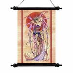 Witching  Moon Fairy Art Scroll