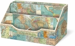 World Maps & Atlas Desk Caddy