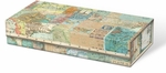World Map & Atlas Pencil Box