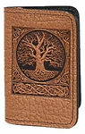 World Tree Leather Card Holder