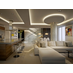 Akoya Penthouse Project designed by Pepe Calderin Design featuring Foscarini Big Bang Suspension Light