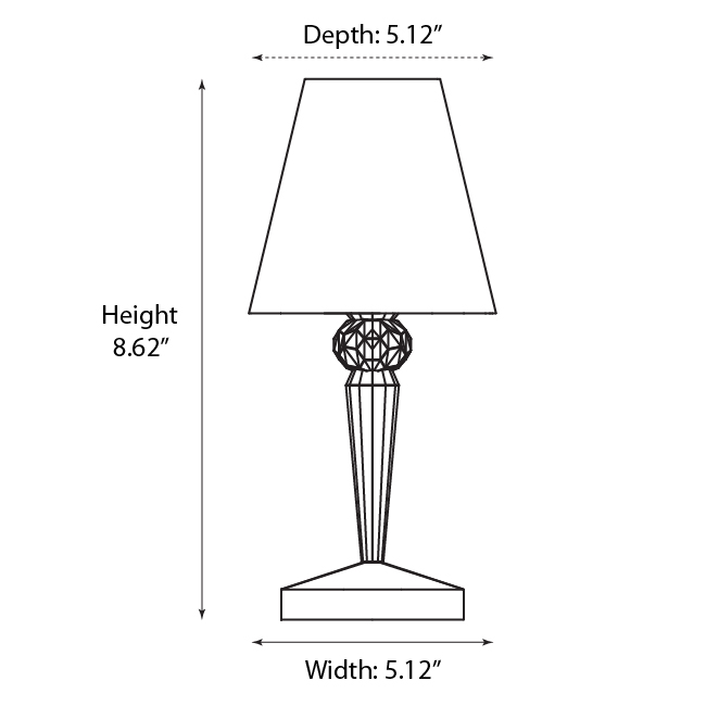 kartell battery table lamp set of 4 battery table lamps ferruccio laviani