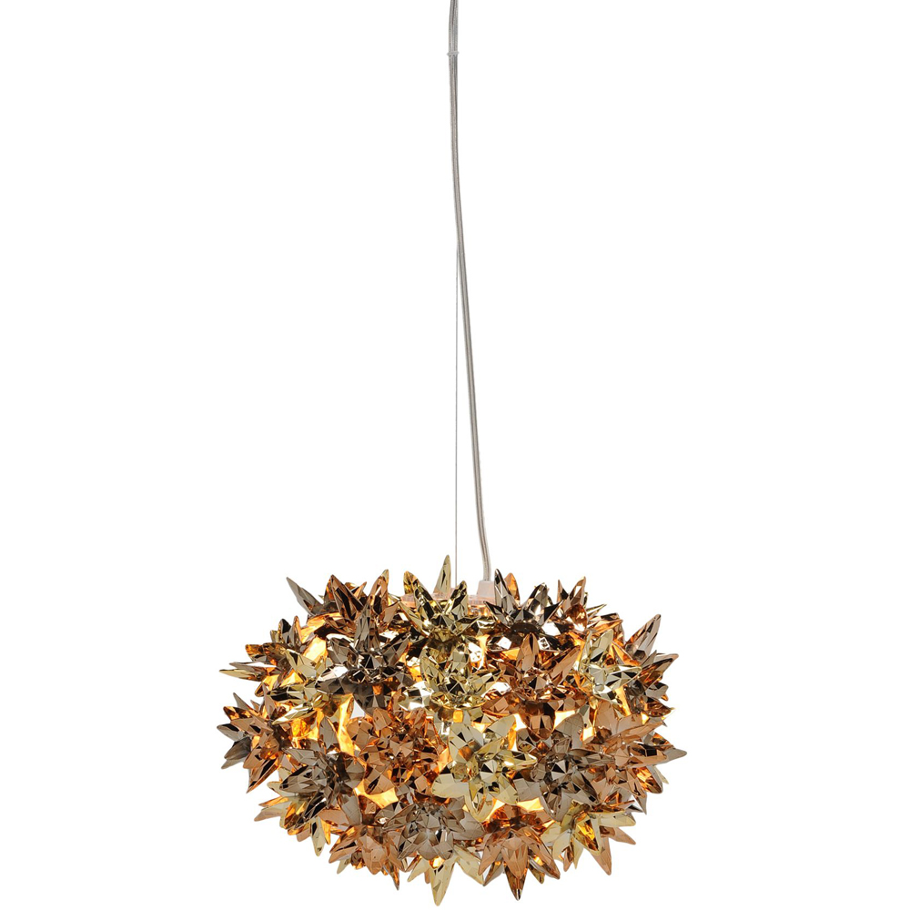 kartell bloom 9263 68 new pendant light bloom lamp gold ferruccio laviani