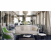 Nob Hill Apartment Project designed by Moroso Construction featuring Kartell Bourgie Table Lamp