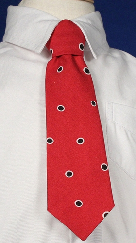 Baby Boy Red Polka Dot Tie