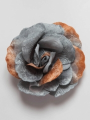 Beautiful Velvet Flower Pin