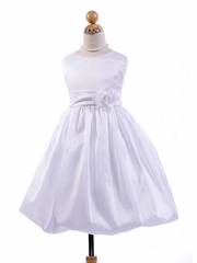 Bubble Taffeta Communion Dress