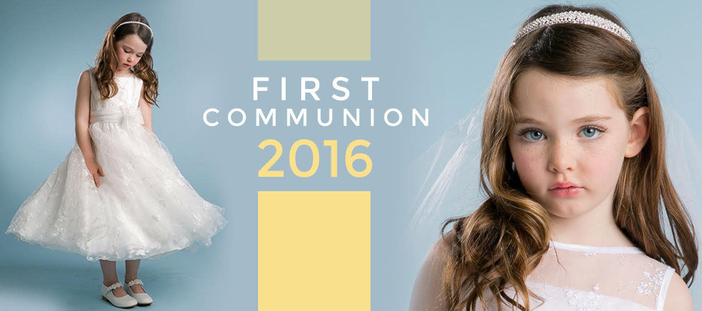 Beautifully Designed First Communion Dresses to Get an Angelic Look