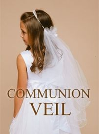 Add more to the sanctity With Communion Veil!