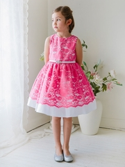 Cotton Lace Flower Girl Dress
