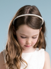 Cute Pearl Flower Girl headband