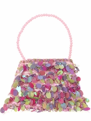 Cute Rainbow Sequin Bag