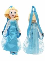 Disney Frozen Elsa Plush Doll Backpack