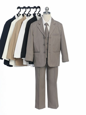 Five Piece Boy Suit with Vest