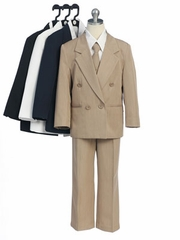 Five Piece Double Breasted Boy Suit